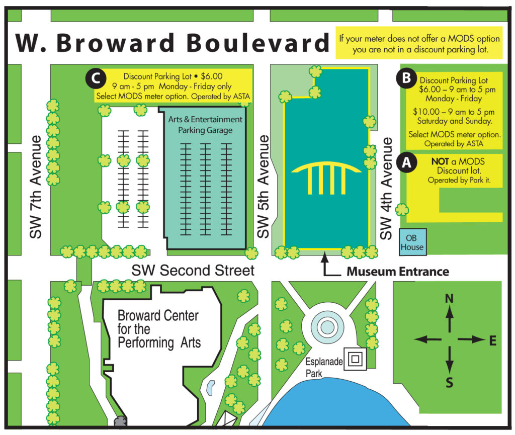 Parking & Directions - Map of Museum Location