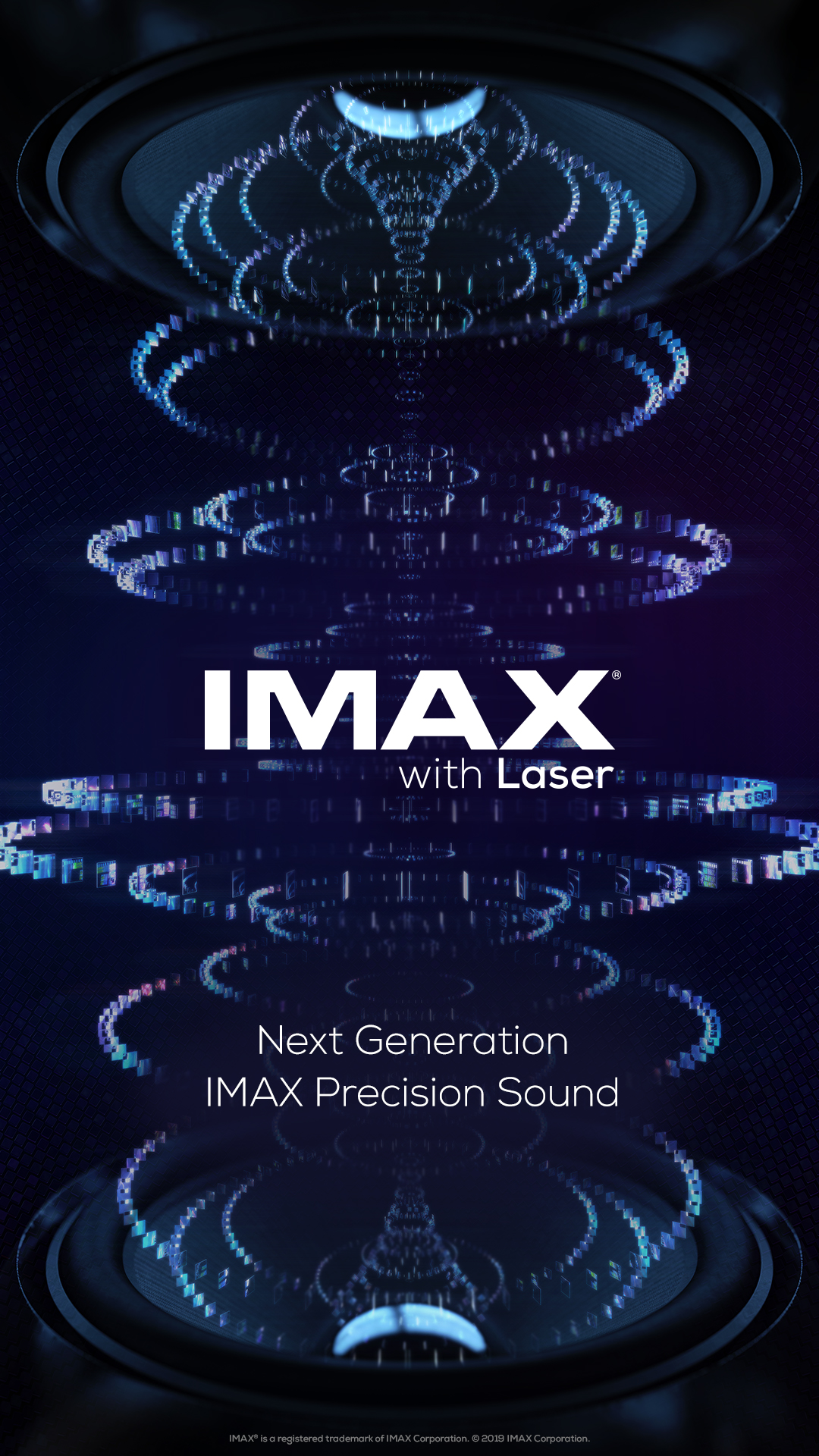 IMAX with Laser Promo Poster.